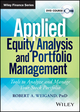 Applied Equity Analysis Video Course (1118797272) cover image