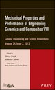 Mechanical Properties and Performance of Engineering Ceramics and Composites VIII, Volume 34, Issue 2 (1118807472) cover image