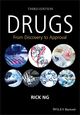 Drugs: From Discovery to Approval, 3rd Edition (1118907272) cover image