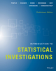Introduction to Statistical Investigations, Preliminary Edition (1118956672) cover image