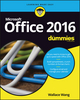 Office 2016 For Dummies (1119293472) cover image