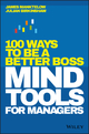 Mind Tools for Managers : 100 Ways to be a Better Boss (1119374472) cover image