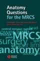 Anatomy Questions for the MRCS (1405145072) cover image