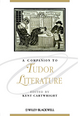 A Companion to Tudor Literature (1405154772) cover image