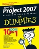 Microsoft Office Project 2007 All-in-One Desk Reference For Dummies (0470137673) cover image
