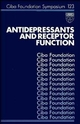 Antidepressants and Receptor Function (0470513373) cover image
