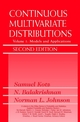 Continuous Multivariate Distributions, Volume 1, Models and Applications, 2nd Edition (0471183873) cover image