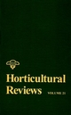 Horticultural Reviews, Volume 21 (0471189073) cover image
