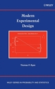 Modern Experimental Design (0471210773) cover image