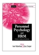 Personnel Psychology and Human Resources Management: A Reader for Students and Practitioners (0471495573) cover image