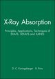 X-Ray Absorption: Principles, Applications, Techniques of EXAFS, SEXAFS and XANES  (0471875473) cover image