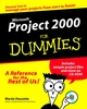Microsoft Project 2000 For Dummies (0764505173) cover image