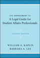 The Supplement to A Legal Guide for Student Affairs Professionals, 2nd Edition (1118031873) cover image