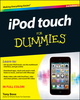 iPod touch For Dummies, 3rd Edition (1118216873) cover image