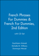 French Phrases For Dummies & French For Dummies, 2nd Edition with CD Set (1118275373) cover image