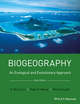 Biogeography: An Ecological and Evolutionary Approach, 9th Edition (1118968573) cover image