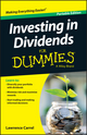 Investing In Dividends For Dummies (1119121973) cover image
