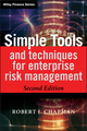 Simple Tools and Techniques for Enterprise Risk Management, 2nd Edition (1119989973) cover image
