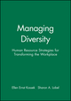 Managing Diversity: Human Resource Strategies for Transforming the Workplace (1557865973) cover image