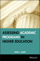 Assessing Academic Programs in Higher Education (1882982673) cover image