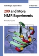 200 and More NMR Experiments (3527310673) cover image