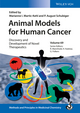 Animal Models for Human Cancer: Discovery and Development of Novel Therapeutics (3527339973) cover image
