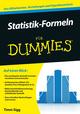 Statistik-Formeln für Dummies (3527690573) cover image