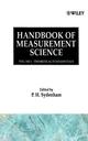 Handbook of Measurement Science, Volume 1: Theoretical Fundamentals (0471100374) cover image