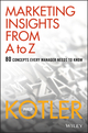Marketing Insights from A to Z: 80 Concepts Every Manager Needs to Know (0471268674) cover image