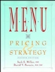 Menu: Pricing & Strategy, 4th Edition (0471287474) cover image