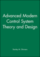 Advanced Modern Control System Theory and Design (0471318574) cover image