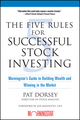 The Five Rules for Successful Stock Investing: Morningstar's Guide to Building Wealth and Winning in the Market (0471686174) cover image