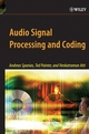 Audio Signal Processing and Coding (0471791474) cover image