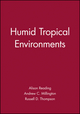Humid Tropical Environments (0631172874) cover image