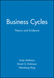 Business Cycles: Theory and Evidence (0631185674) cover image