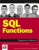 SQL Functions Programmer's Reference (0764598074) cover image