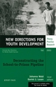 Deconstructing the School-to-Prison Pipeline: New Directions for Youth Development, Number 99 (0787972274) cover image