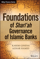Foundations of Shari'ah Governance of Islamic Banks (1118460774) cover image