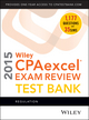 Wiley CPAexcel Exam Review 2015 Test Bank: Regulation (1118917774) cover image