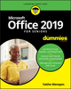Office 2019 For Seniors For Dummies (1119517974) cover image