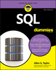 SQL For Dummies, 9th Edition (1119527074) cover image