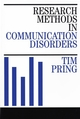 Research Methods in Communication Disorders (1861560974) cover image