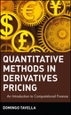 Quantitative Methods in Derivatives Pricing: An Introduction to Computational Finance (0471394475) cover image