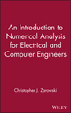 An Introduction to Numerical Analysis for Electrical and Computer Engineers (0471467375) cover image