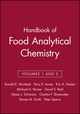 Handbook of Food Analytical Chemistry, Volumes 1 and 2