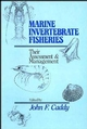 Marine Invertebrate Fisheries: Their Assessment and Management (0471832375) cover image