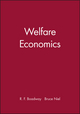 Welfare Economics (0631133275) cover image