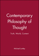 Contemporary Philosophy of Thought: Truth, World, Content (0631190775) cover image