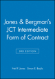 Jones and Bergman's JCT Intermediate Form of Contract, 3rd Edition (0632042575) cover image