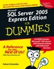 Microsoft SQL Server 2005 Express Edition For Dummies (0764599275) cover image